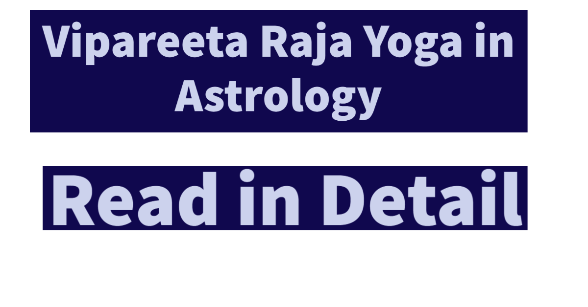 Types Of Yoga In Astrology
